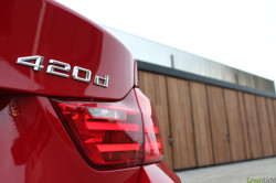 Rijtest BMW 420d Melbourne Rot 3
