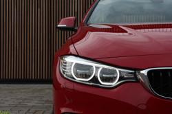 Rijtest BMW 420d Sport Line Melbourne Rot 2