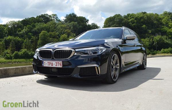 Rijtest: BMW 5 Reeks M550d xDrive Touring G31 M Performance (2019)