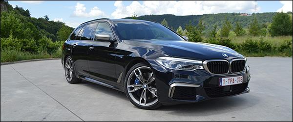 Rijtest: BMW 5 Reeks M550d Touring (2019)