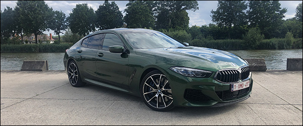 Rijtest: BMW 8 Reeks M850i Gran Coupe G16 4.4 V8 530 pk Verde Ermes (2020)
