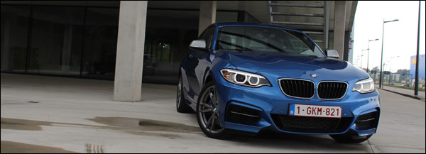 Rijtest - BMW M235i - Header