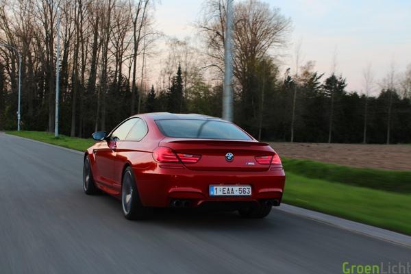 Rijtest BMW M6 Coupe 09
