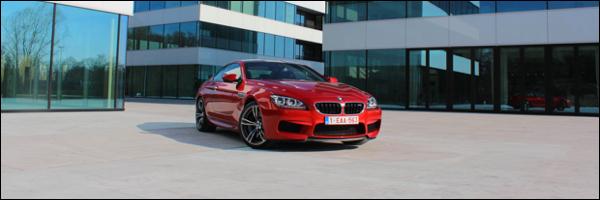 Rijtest BMW M6 Coupe F13