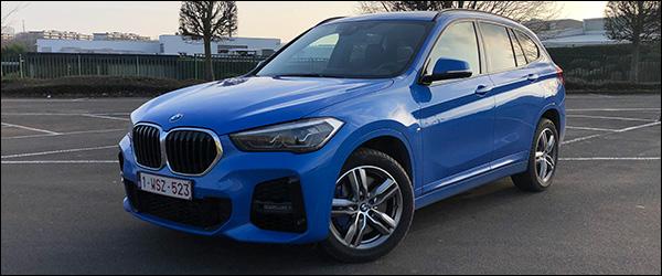 Rijtest: BMW X1 sDrive18i facelift (2020)
