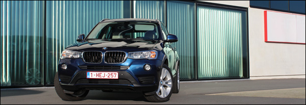 Rijtest - BMW X3 sDrive18d - Header