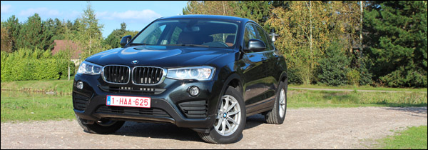 Rijtest - BMW X4 - Header