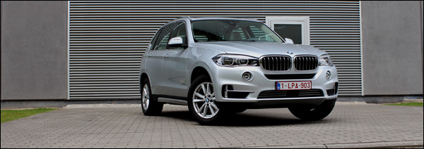 Rijtest - BMW X5 xDrive40e - Header