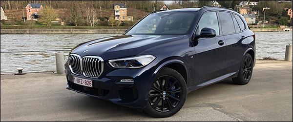 Rijtest: BMW X5 xDrive45e plug-in hybride (2020)