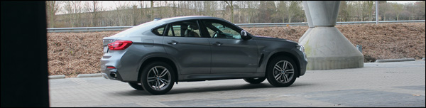 Rijtest - BMW X6 xDrive 50i - Header
