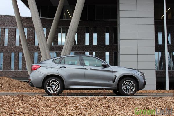 Rijtest - BMW X6 xDrive50i 12