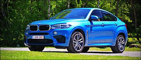 Rijtest: BMW X6 M - SAV - 4.4 V8