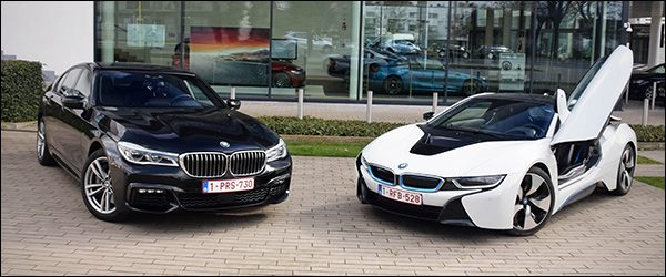 Rijtest Bmw I8 Coupe Vs 7 Reeks Limousine Groenlicht Be