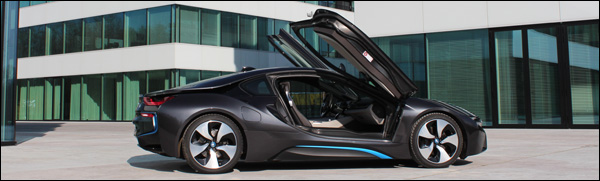 Rijtest - BMW i8 - Header
