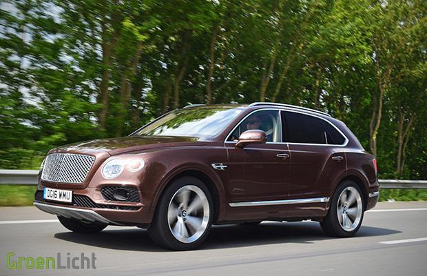 Rijtest: Bentley Bentayga W12 | GroenLicht.be
