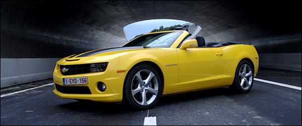 Rijtest: Chevrolet Camaro Convertible V8
