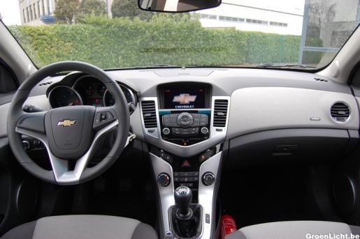 Rijtest Chevrolet Cruze
