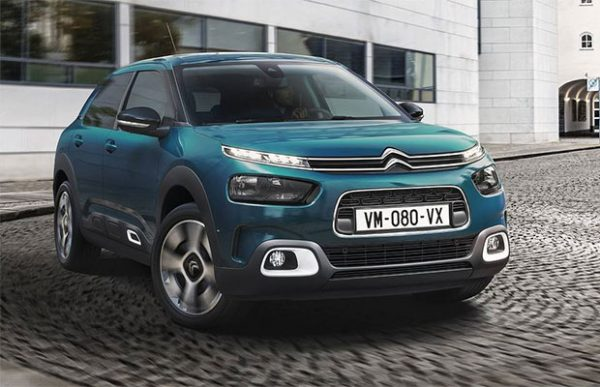 rijtest citroen c4 cactus 1 2 puretech 110 pk facelift 2018. Black Bedroom Furniture Sets. Home Design Ideas