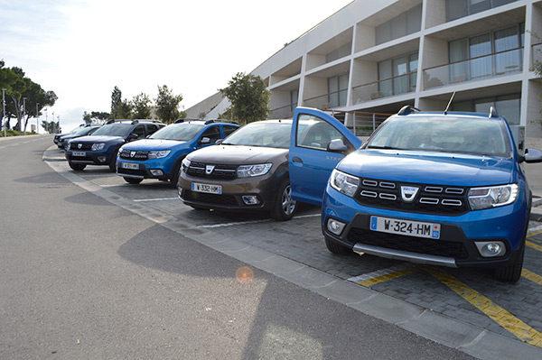 Kort Getest: het vernieuwde Dacia gamma (2017)