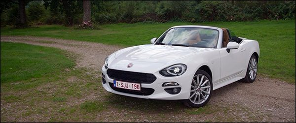 Rijtest: Fiat 124 Spider 1.4 MultiAir Turbo AT (2017)