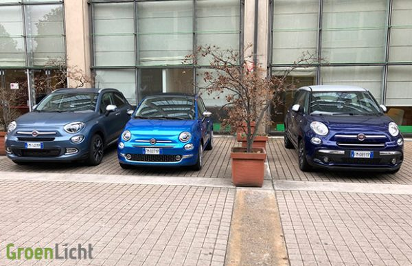 Rijtest: Fiat 500 500L 500X Mirror (2018)