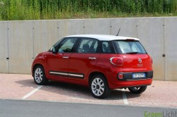 Rijtest Fiat 500L 2012