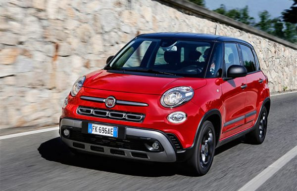 Rijtest Fiat 500L Cross Wagon facelift (2017)