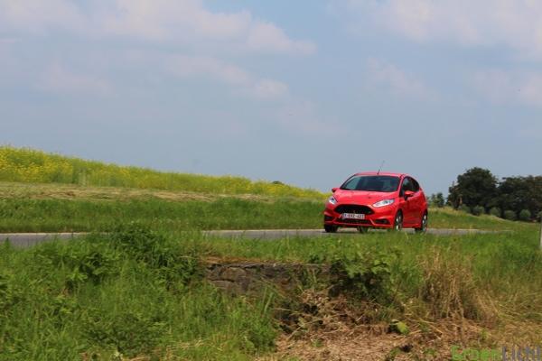 Rijtest Fiesta ST