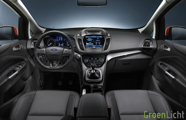 Rijtest - Ford C-Max 2015 22