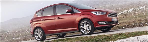 Rijtest - Ford C-Max 2015 - Header