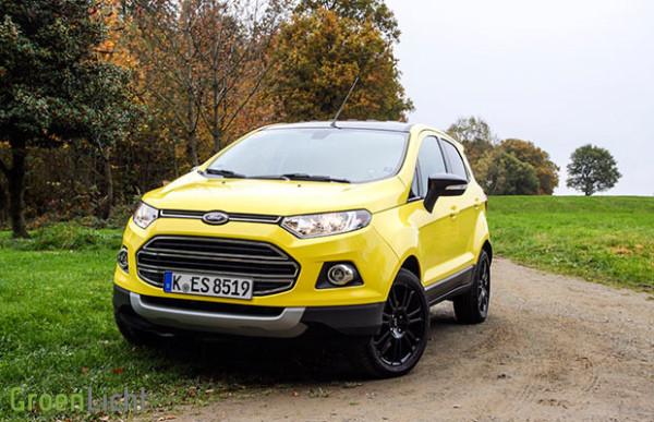 Kort Getest: Ford EcoSport 1.0i EcoBoost (facelift)