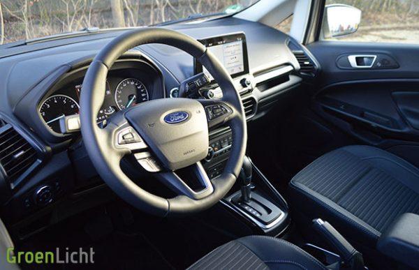 Rijtest: Ford Ecosport 1.0 EcoBoost AT 125 pk (2018)