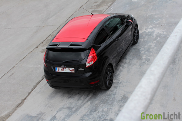 Rijtest - Ford Fiesta Black Edition - 09