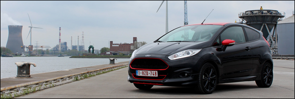 Rijtest - Ford Fiesta Black Edition - Header