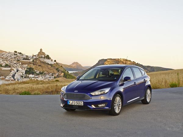 Rijtest - Ford Focus Facelift - Ecoboost 125 pk03