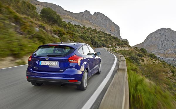 Rijtest - Ford Focus Facelift - Ecoboost 125 pk05