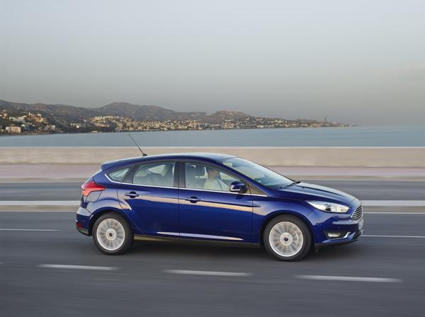 Rijtest - Ford Focus Facelift - Ecoboost 125 pk09