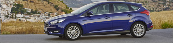 Rijtest - Ford Focus MY2014 - Header