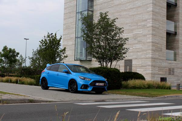 Rijtest - Ford Focus RS - 06
