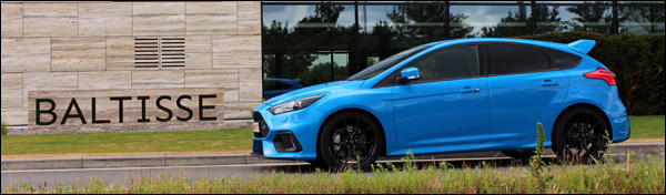 Rijtest - Ford Focus RS - Header