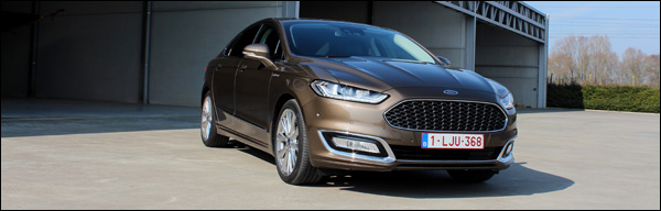 Rijtest - Ford Mondeo Vignale - Header