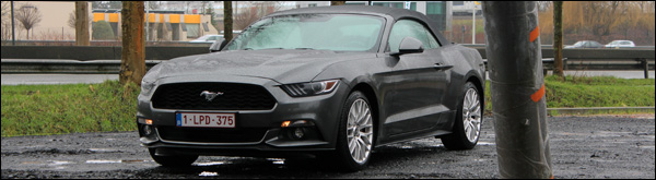 Rijtest - Ford Mustang Convertible - Header
