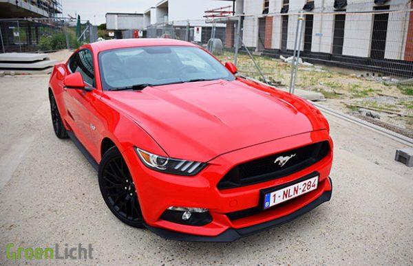 Rijtest Ford Mustang GT 5.0 V8 2016