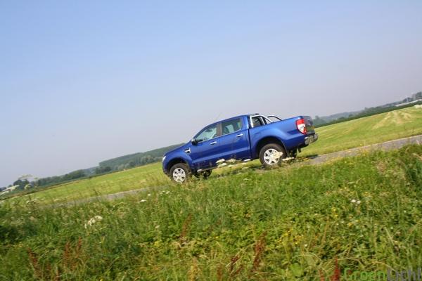 Rijtest Ford Ranger 2012