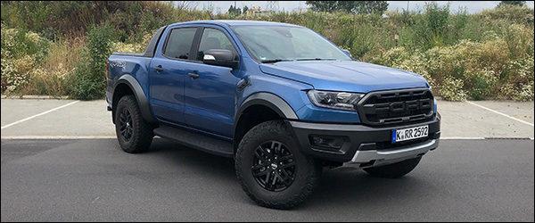 Rijtest: Ford Ranger Raptor 2.0 EcoBlue (2019)