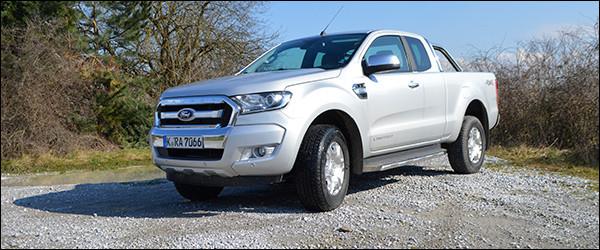 Rijtest: Ford Ranger facelift TDCi (2015)