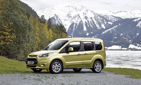 Rijtest - Ford Tourneo Connect - 2