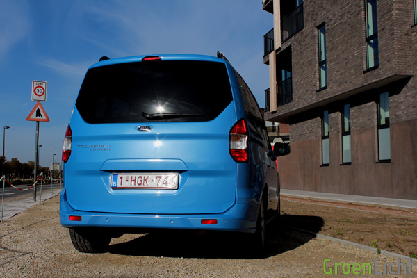 Rijtest - Ford Tourneo Courier 04