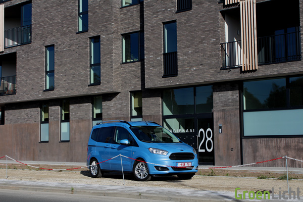 Rijtest - Ford Tourneo Courier 05