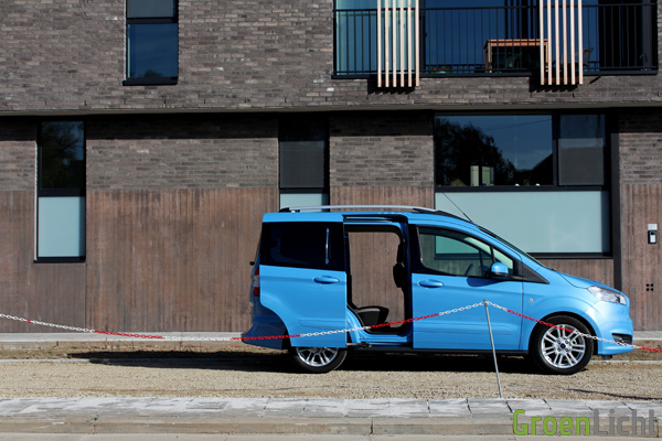 Rijtest - Ford Tourneo Courier 07